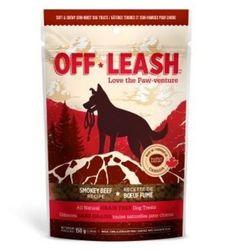 Off-Leash Smokey Beef Natural Dog Treats 5.29 oz