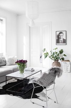 The dreamy white Swedish home of Kristin Sundberg (my scandinavian home)