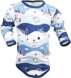 Mumin, Body, Vinterdag, Blå - Kläder