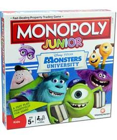 Buy Monopoly Junior Monsters University Edition at Argos.co.uk, visit Argos.co.uk to shop online for Games and board games