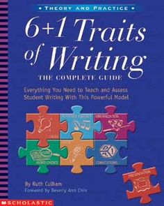 The 6+1 Traits model of instruction and assessment is based on the key elements of writing (Voice, Ideas, Conventions, Organization, Word Choice, Sentence Fluency, and Presentation). The traits give teachers a focus for their writing instruction and help to focus assessment, identify specific areas of student need and direct teaching and learning of how to write. The research-based rubrics are particularly helpful for new teachers since they specify how to assess students and tailor…