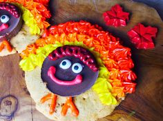 Food Fitness by Paige: Frosted Peanut Butter Supreme Turkey Cookies