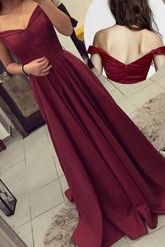 Cheap Light Burgundy Prom Dresses Off The Shoulder Burgundy Long Formal Dress Prom Dress, Burgundy Prom Dresses, Beautiful Prom Dresses, Prom Dresses Cheap Prom Dresses 2019 Homecoming Dresses Long, Dresses Short, A Line Prom Dresses, Beautiful Prom Dresses, Cheap Prom Dresses, Prom Party Dresses, Party Gowns, Satin Dresses, Dance Dresses