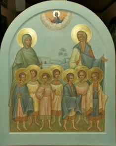 Orthodox Prayers, Painting, Icons, Art, Art Background, Painting Art, Symbols, Kunst, Paintings