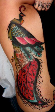 Peacock Tattoo - Wow