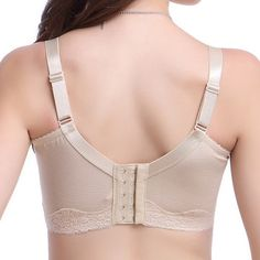 Sexy Ultrathin Wireless Embroidered Bras Breathable Gather Soft Bras