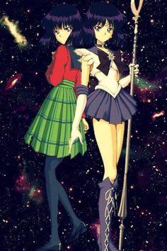 ~ Hotaru and Sailor Saturn ~