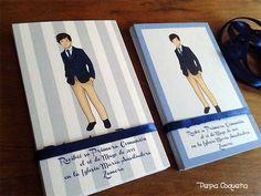 Invitaciones y recordatorios para Comuniones y Bodas. Talleres de manualidades. Ilustraciones y Diseño Gráfico. Álbumes personalizados.