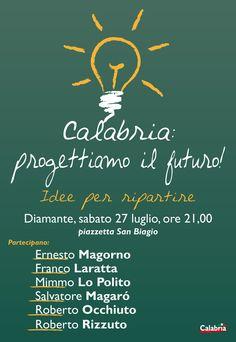 Calabria: progettiamo il futuro! Idee per ripartire.