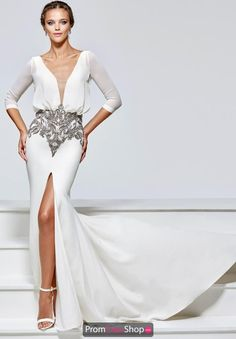 Tarik Ediz Prom Dress 93155 at Prom Dress Shop