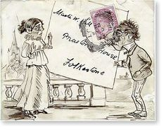 Envelope : Postally used 1893