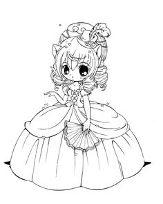 Quirky Artist Loft: Sweet Lolita Coloring Pages