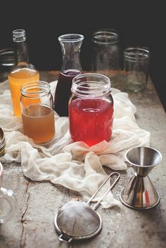 // A Better Method: Cold-Process Infused Simple Syrups