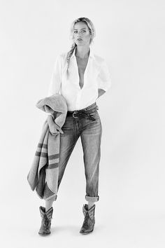 Carolyn Murphy is photographed by Yelena Yemchuk for The Edit September 2014. Styled by Tracy Taylor. Hair by Leonardo Manetti. Make-up by Yumi Mori.