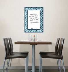 Diamond Message Board Wall Decal - Contemporary - Decals - WallPops