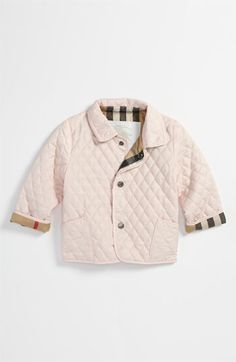 Burberry Quilted Jacket (Baby) | Nordstrom