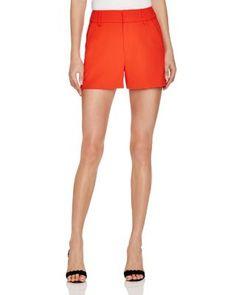 Alice + Olivia Deacon High Waist Shorts - 100% Bloomingdale's Exclusive | Bloomingdale's