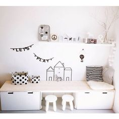 Kids Room Ikea Ideas Kitchen Hacks Ideas For 2019 Ikea Hack Kids, Ikea Kids Room, Kids Bedroom, Bedroom Ideas, Ikea Childrens Bedroom, Baby Bedroom, Bedroom Designs, Bedroom Decor, Playroom Design