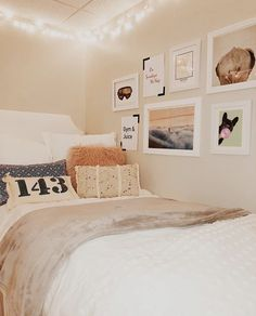 home decor decoration College Bedroom Decor, Cool Dorm Rooms, Cute Bedroom Decor, College Room, Room Ideas Bedroom, College Apartment Bedrooms, Preppy Dorm Room, Chic Dorm, Boho Dorm Room
