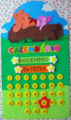 PROMOÇÃO - KIT PROFESSOR COMPLETO Childrens Cushions, School Door Decorations, School Doors, Kindergarten Math Worksheets, Cut And Paste, Kit Professor, Classroom Decor, Winnie The Pooh, Back To School