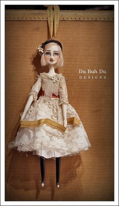 "Doll Ornament 2011~""Poppy"" 