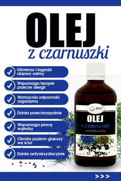 Olej z czarnuszki ceniony jest nie tylko w kosmetyce, ale i problemach zdrowotnych. Superfoods, Weight Loss Tips, Natural Health, Health And Beauty, Diy And Crafts, Beauty Hacks, Health Fitness, Herbs, Healthy Recipes