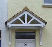 How To Build A Wood Door Awning | EHow.com