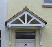 Build Wood Awning Over Door PDF Woodworking