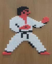 Resultado de imagen de karate champ hama beads