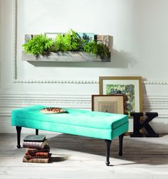 CHAPTER 11: This is a modern example of a banqueta. Like this banqueta, many Spanish examples had velvet upholstery.