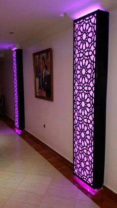 12391817_1537467303233564_162040402333910729_n - Copie House Ceiling Design, Ceiling Design Living Room, Bedroom False Ceiling Design, Home Room Design, Bed Frame Design, Tv Wall Design, Küchen Design, Living Room Partition Design, Room Partition Designs