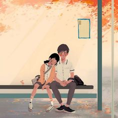 Pascal Campion Heartwarming And Soulful Illustrations About - Husband turns everyday moments with his wife into heartwarming illustrations