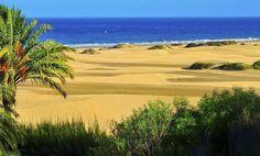 Playa de Maspalomas, (Gran Canaria, España/Spain).