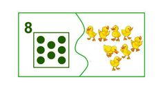 8 Math For Kids, Matching Games, Learning Centers, Jouer, Farm Animals, Kindergarten, Puzzle, Kids Rugs, Teaching