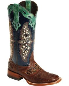 Lucchese Handcrafted 1883 Amberlyn Full Quill Ostrich Boots