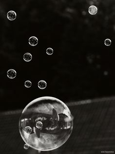 Some dreamworlds turn out to be soap bubbles…  Day 23 - September Women - Feminine Wisdom