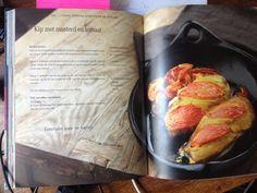 Kip tomaat mosterd Pascale Naessens, Mijn pure Keuken 2, p. 130