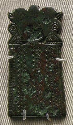 Spenne Fibula Roman Empire provincial art. 4-5th Century.