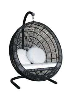 Bell Swing Chair./ schommel stoel, ei vorm