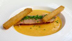 Śledź wędzony z dynią #intermarche #śledź #dynia Thai Red Curry, Ethnic Recipes, Food, Essen, Meals, Yemek, Eten