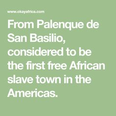 From Palenque de San Basilio, considered to be the first free African slave town in the Americas. Afro, Music Tours, World Music, African, San, Palenque, Colombia, Africa