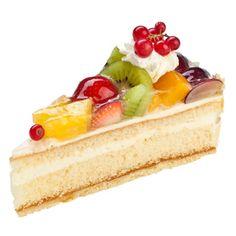 Sahnige Obsttorte - Cream & Fruit Cake (German)