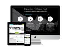Responsive design for disruptive tech expo. #responsive #web #design