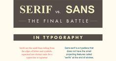 Serif vs Sans Serif – The Final Battle