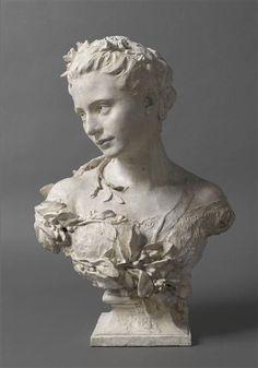 Amélie de monfort, épouse de carpeaux.