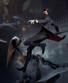 """Check out this @Behance project: """"Dishonored2 Gameinformer covers"""" https://www.behance.net/gallery/51844125/Dishonored2-Gameinformer-covers"""