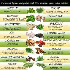 Herbes et épices qui guérissent..