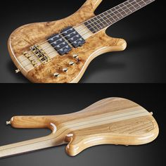 """Corvette $$ with 3/8"""" Olive Ash top, Swamp Ash back and natural transparent HP finish"""