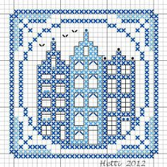 Creative Workshops from Hetti: SAL Delfts Blauwe Tegels, Deel 7 - SAL Delft Blue Tiles, Part 7.