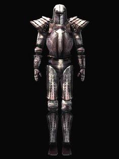 Morrowind. Armadura de hierro. Pesada.